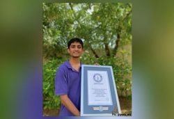 Indian boy jumps across ruler 101 times in 30 secs, sets Guinness record