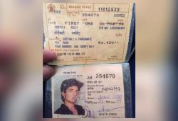 Fan shares Sonu Sood's 23-yr-old ₹420 local pass; actor says 'Life's a full circle'