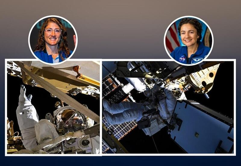 US astronauts share their pics from NASA's 1st all-female spacewalk