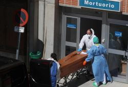 Spain records 2nd most coronavirus deaths in a day for any country as 832 die
