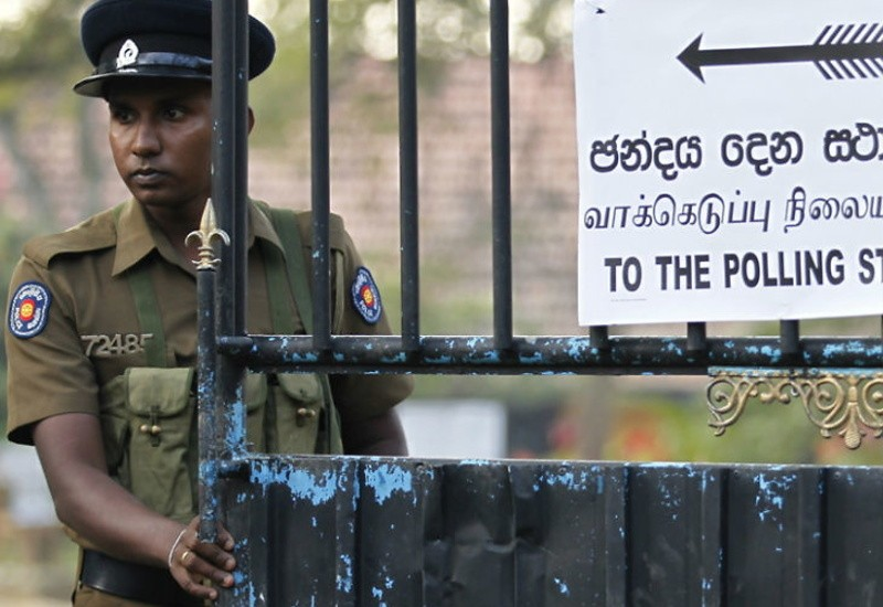 Voting for Presidential Election continues in Sri Lanka; Gunmen fired on buses filled with Muslim voters
