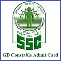 SSC GD constable admit card 2019 released at ssc.nic.in