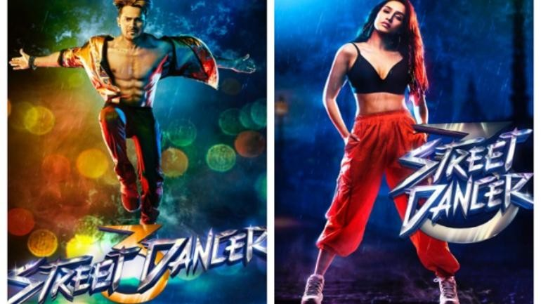 Street Dancer: Varun Dhawan and Shraddha Kapoor gets ready for biggest dance battle in solo posters