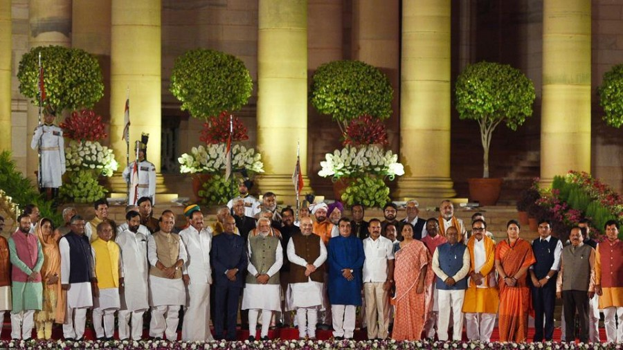 5 frontbenchers gone, Lok Sabha has new-look seating plan