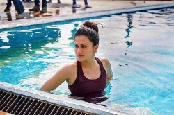 ​Taapsee Pannu Scared Of Swimming