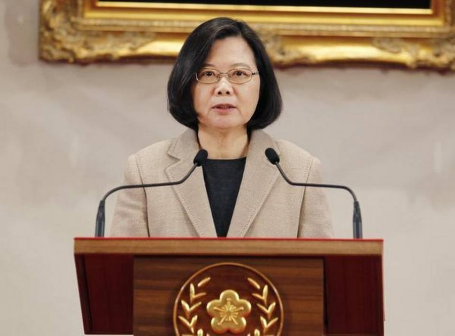 Taiwan president to visit U.S. this month, move likely to anger China