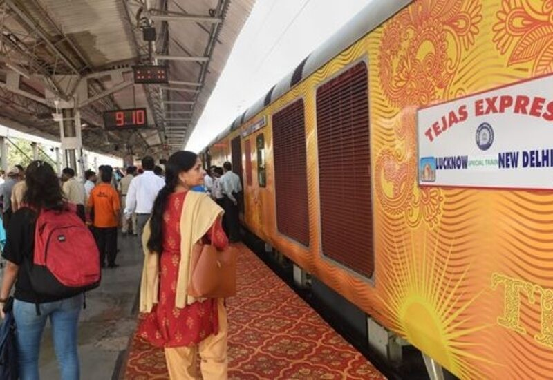 India's first private train posts profit in first month
