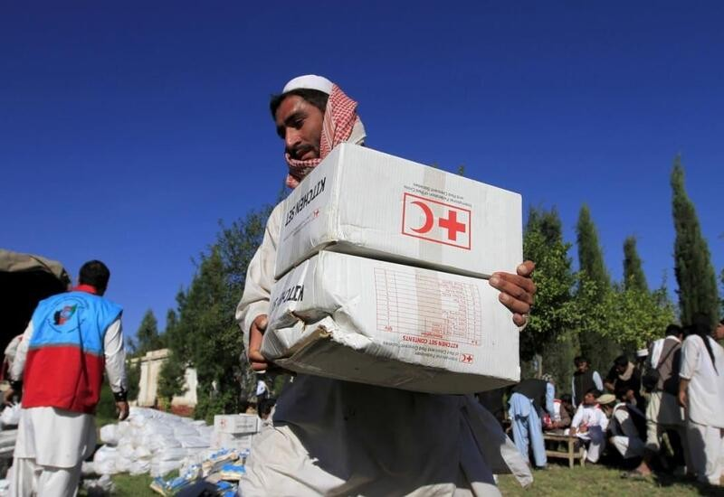 Taliban revokes ban on Red Cross, provides security guarantees
