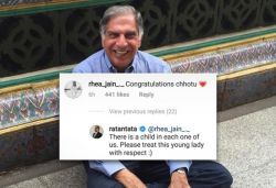 Ratan Tata defends woman after she gets criticised for calling him 'Chhotu'