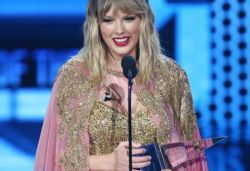 Last year had some of the best and hardest times of my life: Taylor Swift after winning AMA artist of the year