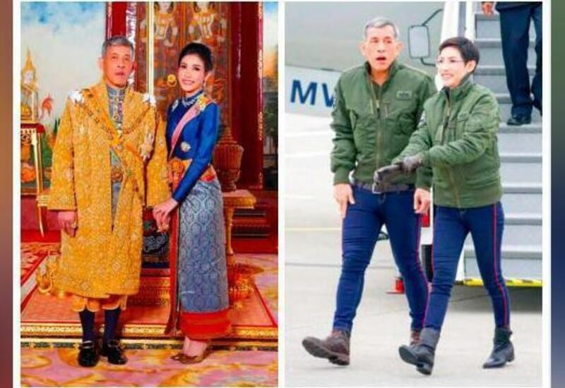 Thai palace website crashes after pics of King's consort released