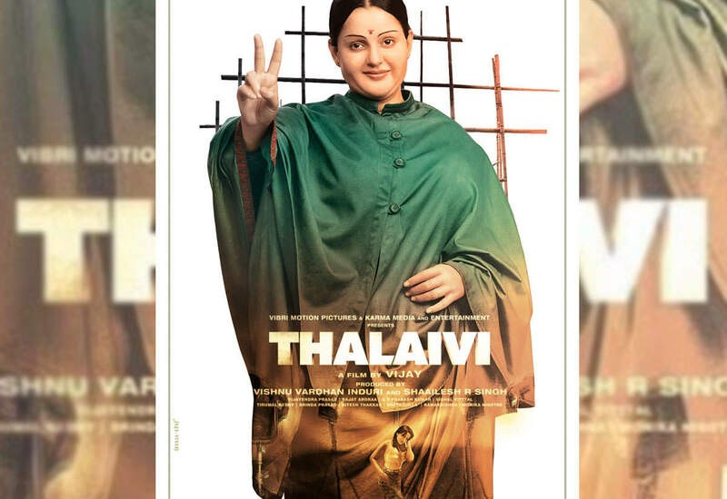 Thalaivi First Look Poster Released: Twitterati Troll Kangana Ranaut For 'Looking Fake'