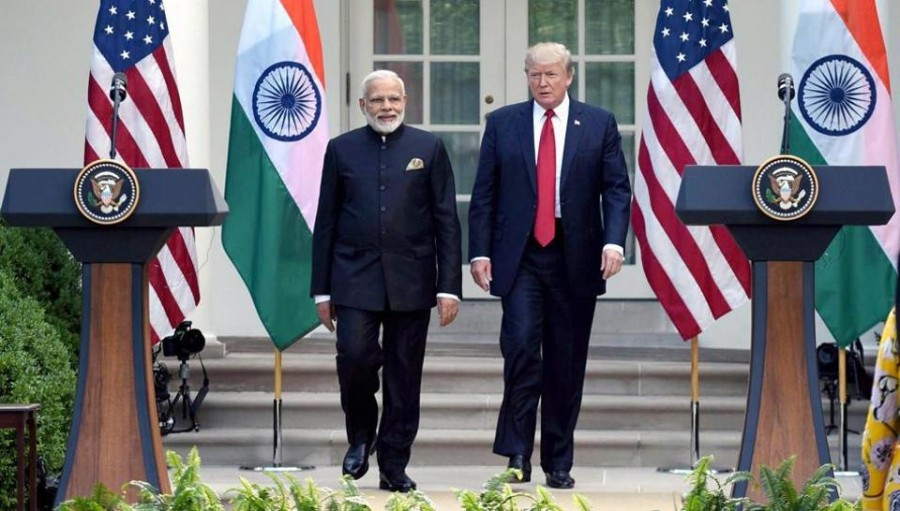 Trump says 'lot of progress' in Indo-Pak ties, to meet PM Modi, Imran Khan