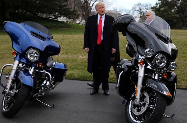 50 percent tariff on US motorcycles by India unacceptable, says Donald Trump