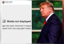 Twitter removes meme posted by Trump after NYT copyright complaint on image
