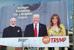 Trump says 70L to attend Gujarat roadshow even as official claims 1L
