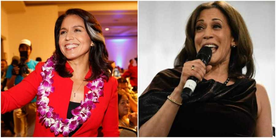 Tulsi Gabbard vastly outraises Kamal Harris among Indian-American donors