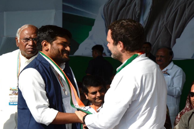 Hardik Patel, Gujarat's Patidar leader, joins Congress ahead of Lok Sabha elections 2019