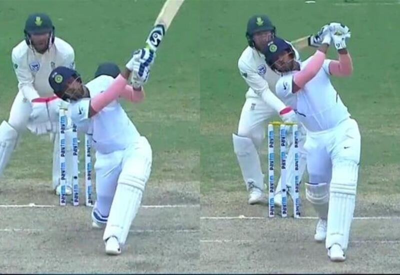 Umesh 3rd batsman in Test history to slam 2 sixes off 1st two balls