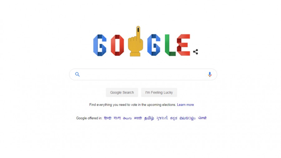 Google Doodle on second phase of Lok Sabha election 2019, shares voting guidelines
