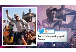 Old man dancing on 'Khule dil ki azadi' amid protest in Mumbai video goes viral