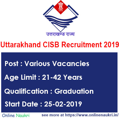 Uttarakhand Cooperative Institutional Service Board Recruitment 2019 – Apply for 442 Manager Posts
