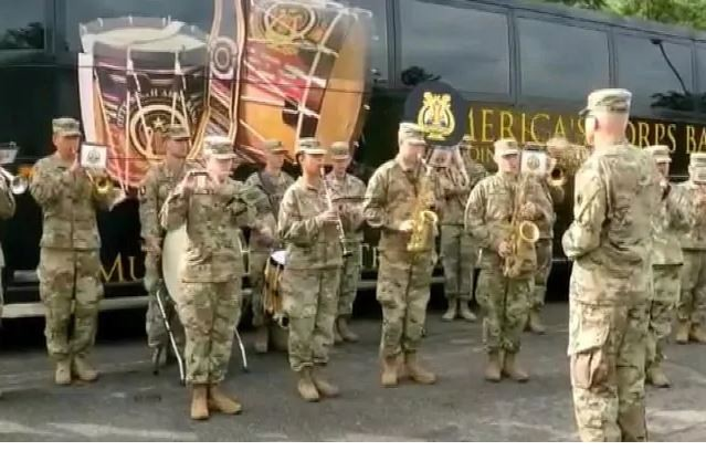 Yudh Abhyas 2019: US Army band played National anthem