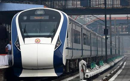 New upgraded Vande Bharat Express to hit the tracks for trial run soon!
