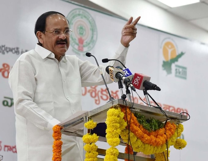 Vice President M. Venkaiah Naidu urge the youth to visit tourist destinations in the country