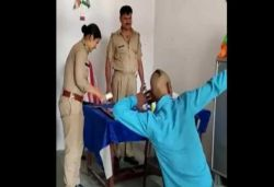 Police make man dance to Sapna Chaudhary's song at UP police outpost, video viral