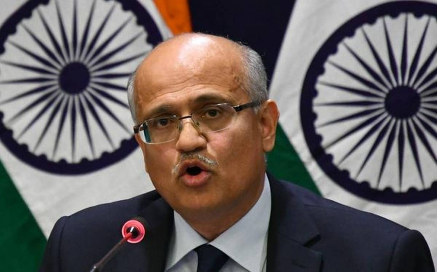 No scope for third party intervention in the Kashmir issue: Foreign Secretary Vijay Gokhale