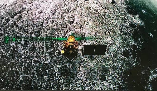 Indian Space Research Organisation locates Vikram lander on moon
