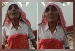 Elderly woman speaks in english about Mahatma Gandhi, video goes viral