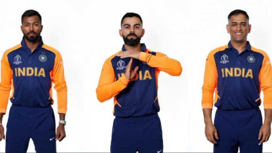Virat Kohli, MS Dhoni and other Indian cricketers sport orange away jersey