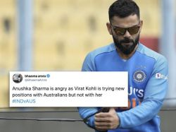 Author jokes about Kohli's batting position involving Anushka; fans say 'Not funny'