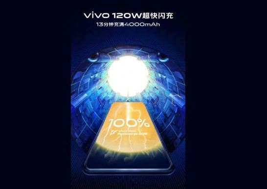Vivo's 120W Super Flash fast charging tech will fully charge 4000mAh battery phone in 13 minutes