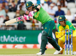 South Africa beat Australia in the history of the tournament 27 years later, win by 10 runs