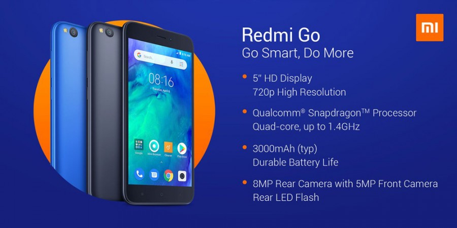 Redmi Go will be available for buying on Flipkart, India launch tomorrow