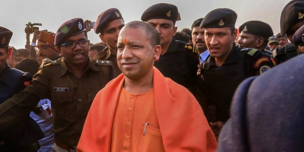 EC lets off Yogi Adityanath over 'Modiji ki sena' remark, asks him to be more careful
