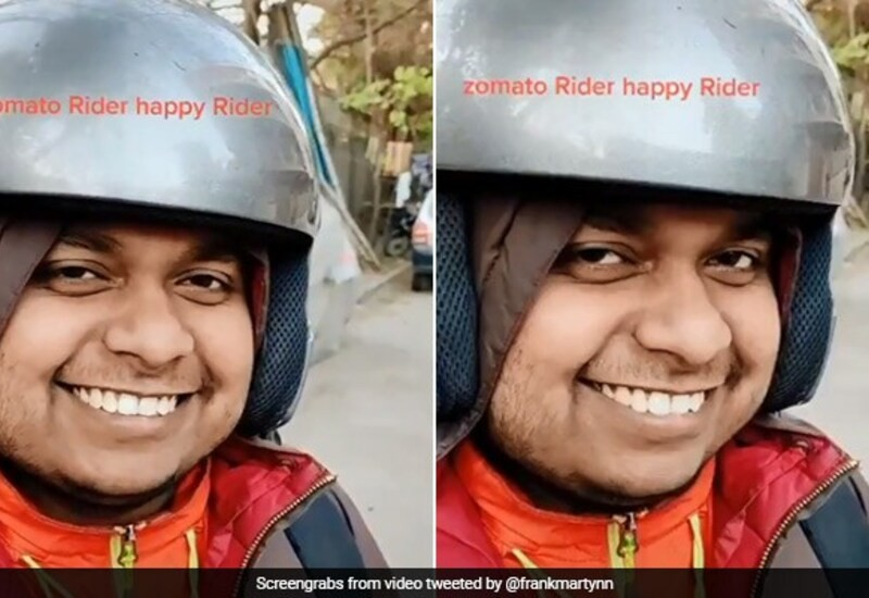 Zomato delivery boy 'Sonu' became Internet sensation, company posted DP on Twitter